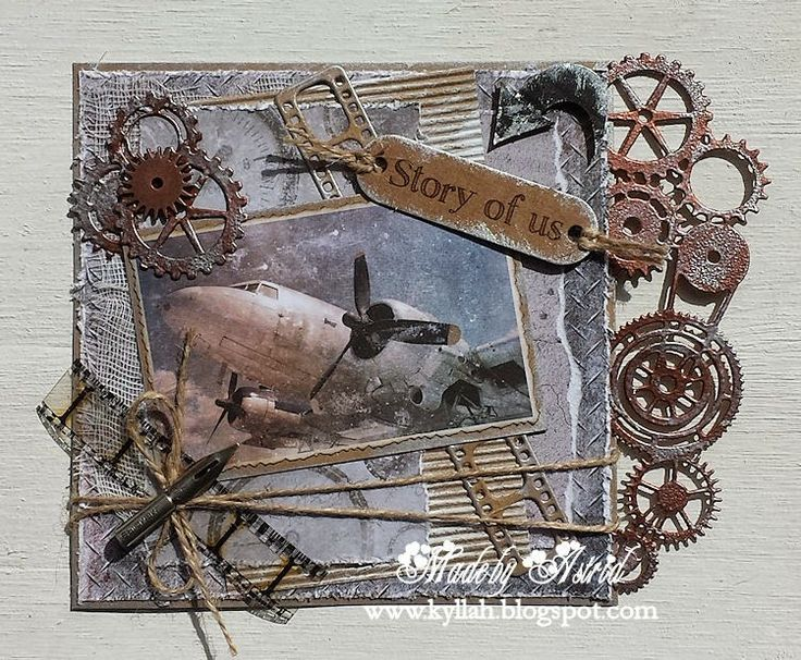 masculine card by Astrid