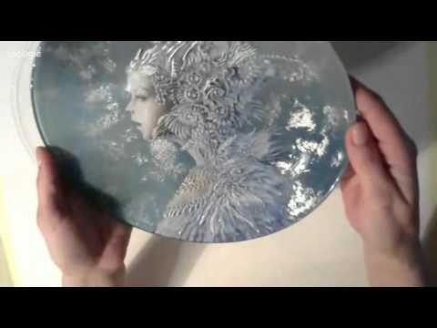 Сотникова Анастасия обратный декупаж тарелок