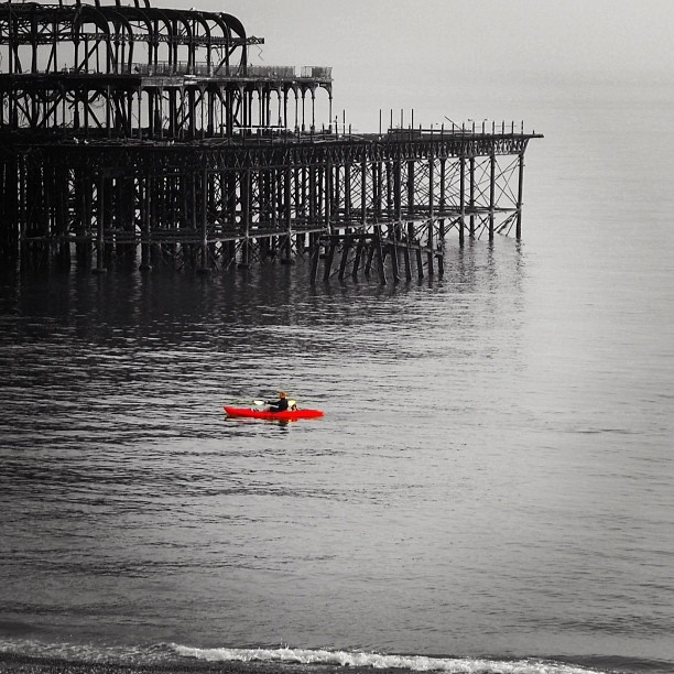 Paddle round the pier! :)