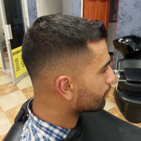 Go Back > Gallery For > Military Haircuts Low Fade