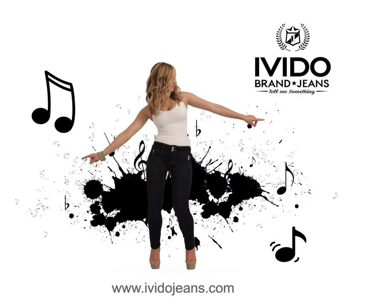 It's Friday. Grab your pair of Ivido Jeans and let's celebrate your hips