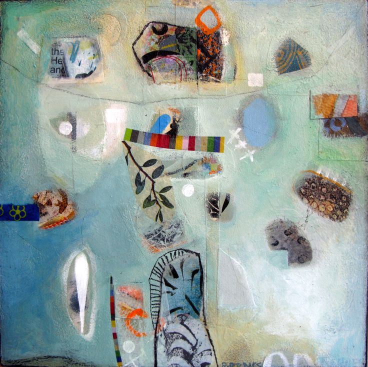 """An Olive Branch"" Mixed Media on board  SOLD Françoise Barnes"