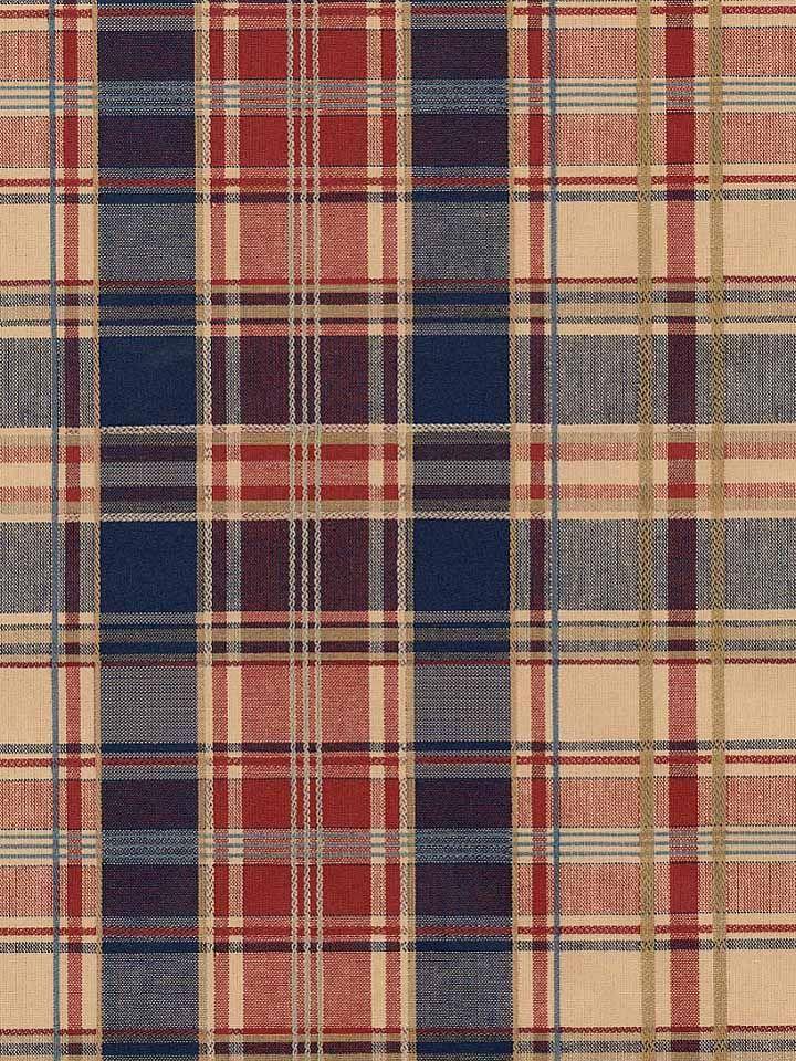 plaid wallpaper | RED, BEIGE, BLUE PLAID WALLPAPER - 201D - 800-341-35819