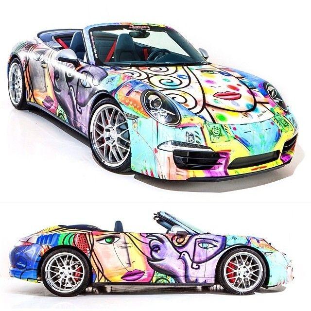 Art meets German engineering. Catch Champion Porsche's 2013 Porsche designed by Michael Perez at the Miami Art Basel from December 4-8, 2013. #ArtBasel #ArtBasel2013 #Miami #Midtown #MiamiBeach #SouthBeach #DesignDistrict #Wynwood #Art #ArtExhibit #Exhibition #Porsche #MichaelPerez #Design #ChampionPorsche #Florida #Travel #Tourism #VisitFlorida #VacationRentals #CondoRentals #LuxuryRentals #LeisureandTravel #AYPRentals