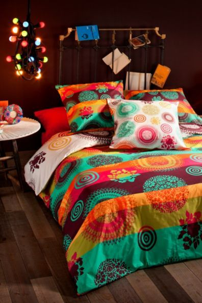 Desigual rainbow duvet cover home pinterest duvet - Desigual home decor ...