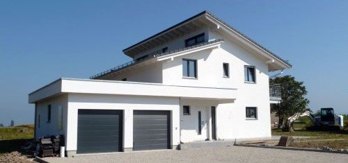 architektenhaus mit versetztem pultdach in onnens h user 01 pinterest haus. Black Bedroom Furniture Sets. Home Design Ideas