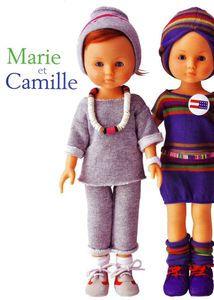 Modèles pour Marie et Camille  Marie-Claire Idées n° 89 - Mars/Avril 2012