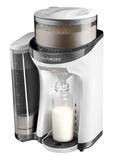 Baby Brezza er som en kaffemaskin; bare til morsmelkerstatning