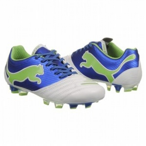 SALE - Puma EC1292500 Soccer Cleats Womens Blue - Was $100.00. BUY Now - ONLY $90.00