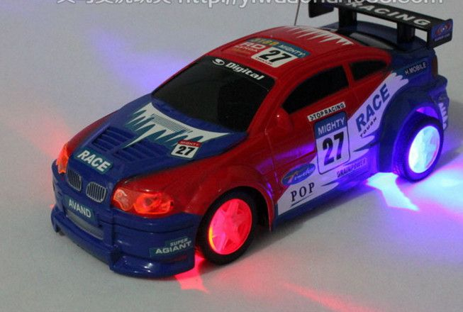 Dmart7deal1:24 speed drift remote control toy electric car with lights flashing toys children toy car racing tires