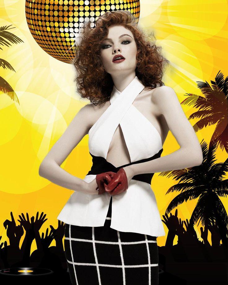 Letní účesy na večírek 2015 z Clynol Protégé Collection