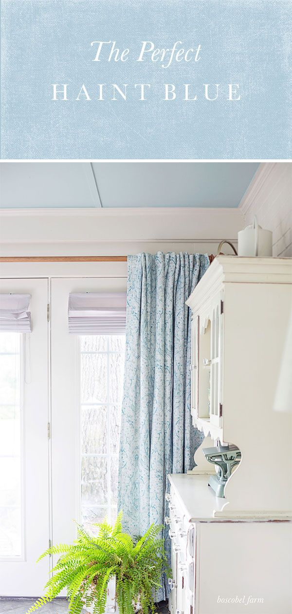 The Perfect Haint Blue With Behr Marquee From The Home Depot