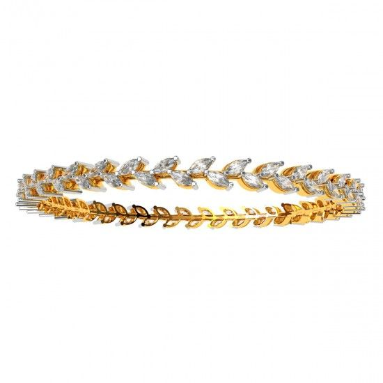 Diamond Marquise Bangle