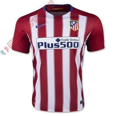 Nouveau maillot de foot Domicile Atletico Madrid 2016 €18.99