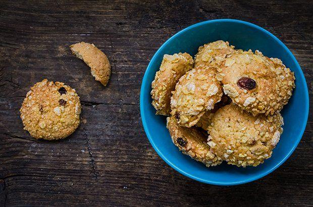 Knusprige Cornflakes Kekse
