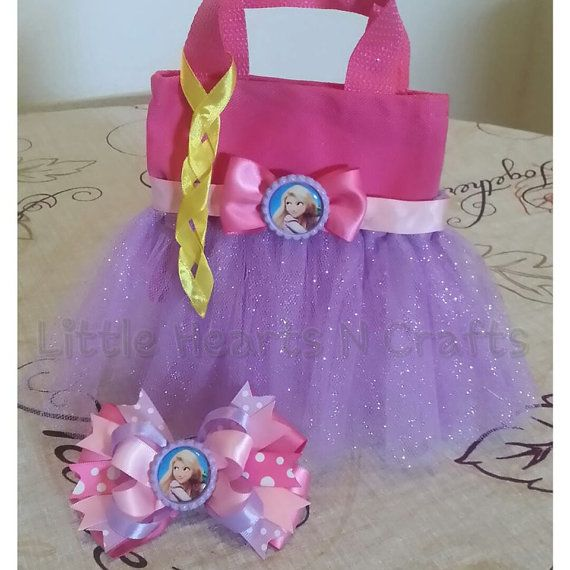 Rapunzel Tangled Princess Inspired Tutu by LittleHeartsNCrafts, $9.50