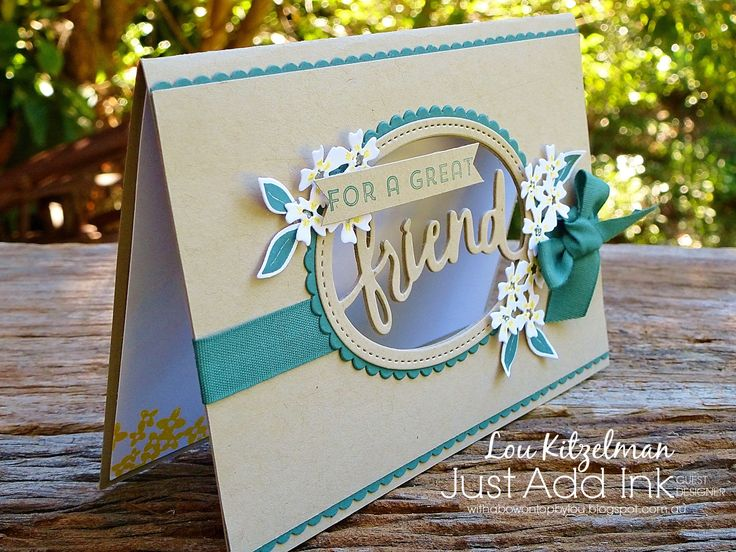 Stampin' Up! Lovely words thinlit