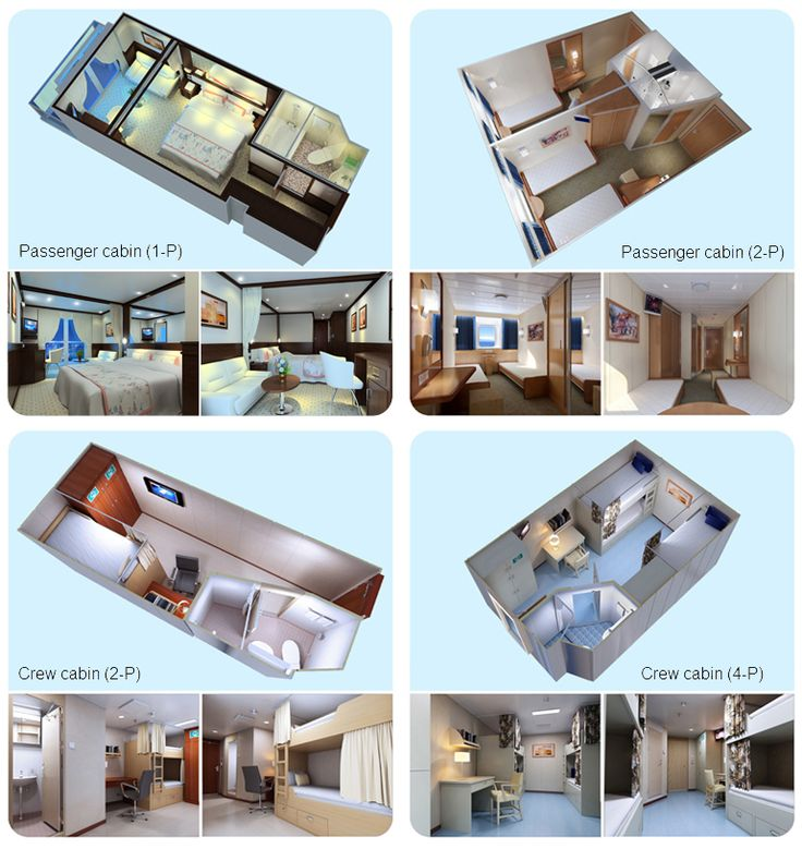 Examples of typical Modular cabin types-Huanan Building Materials Co., Ltd