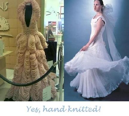 Fine Crochet Wedding Dress Pattern Free Elaboration - Wedding ...