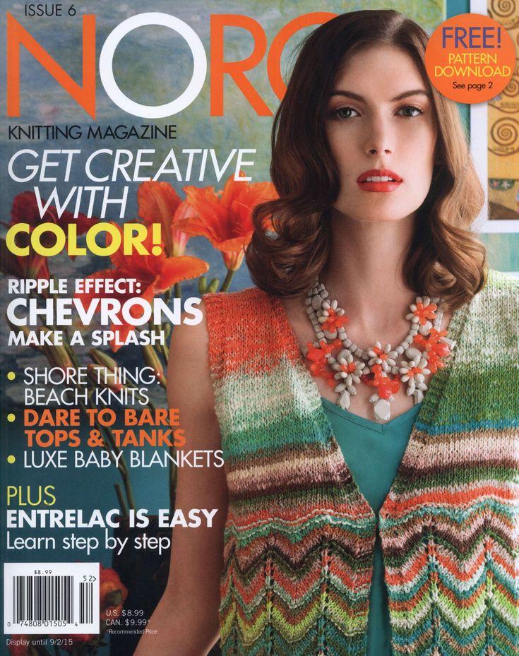 68 Best Noro Magazins Images On Pinterest Crochet Magazine