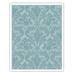 Tim Holtz Alterations by Sizzix Damask Texture Fades Embossing Folder