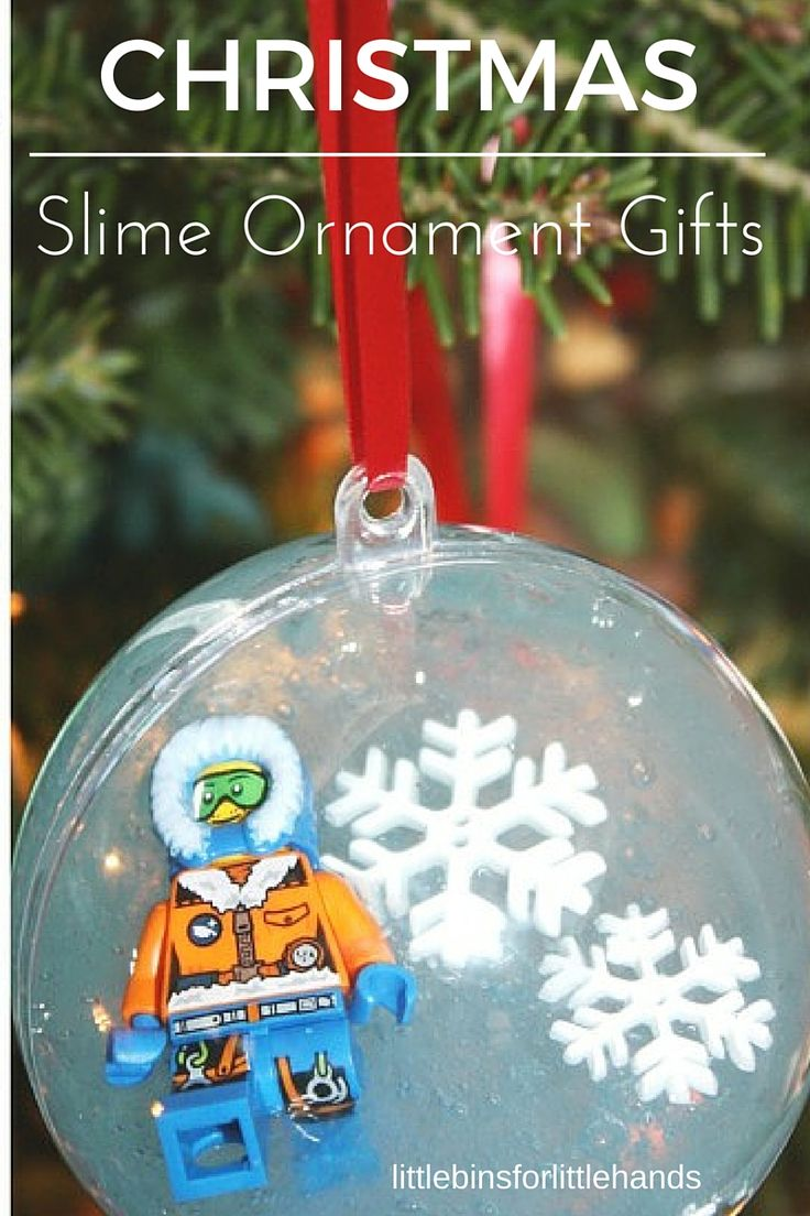 Slime Ornaments For Kid Made Gifts To Give And Get This Holiday Season