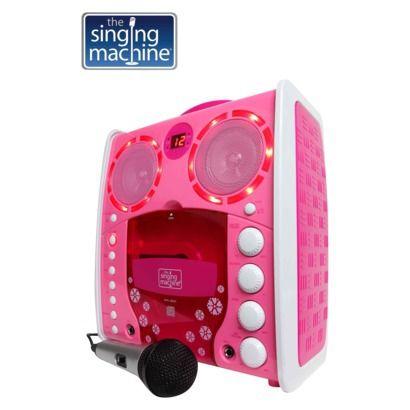 The Singing Machine Portable Cdg Karaoke Pink Sml383p