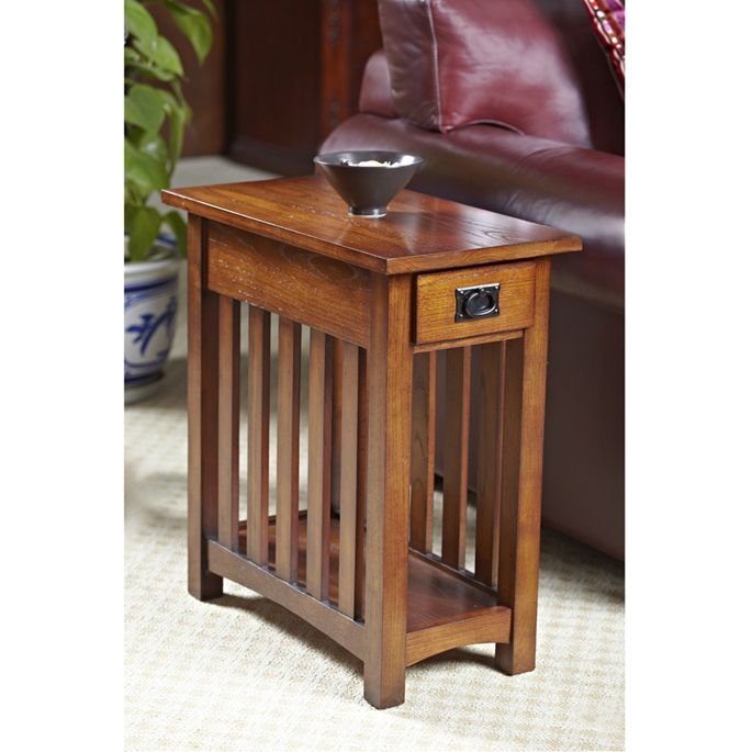 Mission Side Table Leick Furniture 8202 In 2020 Mission Furniture Craftsman Style Furniture Mission Style Furniture