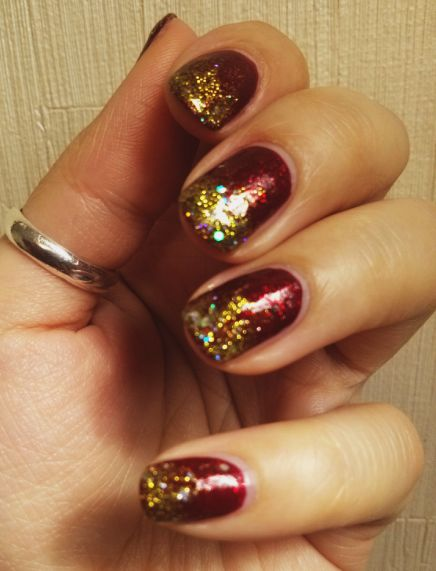 Nail art- iowa state game?!