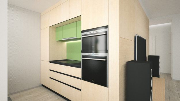Návrh kuchyne - Banšelova, Bratislava - Interiérový dizajn / Kitchen interior by Archilab