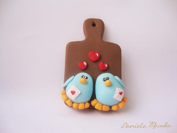 Blue Birds in love