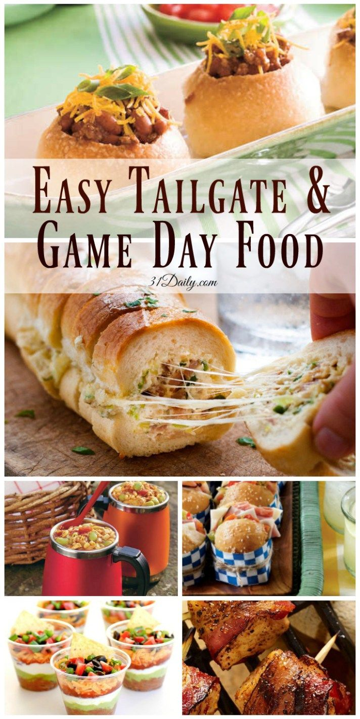 Quick And Easy Tailgating And Game Day Foods Game Day