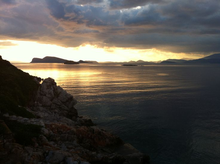 The Peloponnese from Hydra