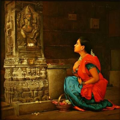 s-elayaraja_girl-in-temple_thirddime_5829 (400×402)