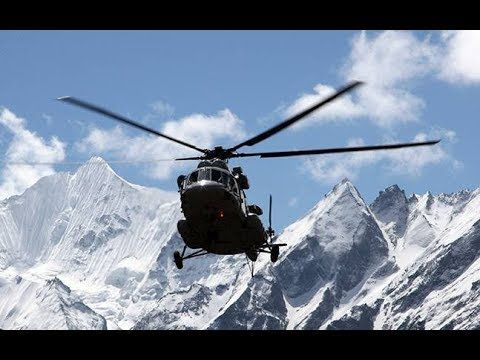 Indian military helicopter crashes near China border, seven dead