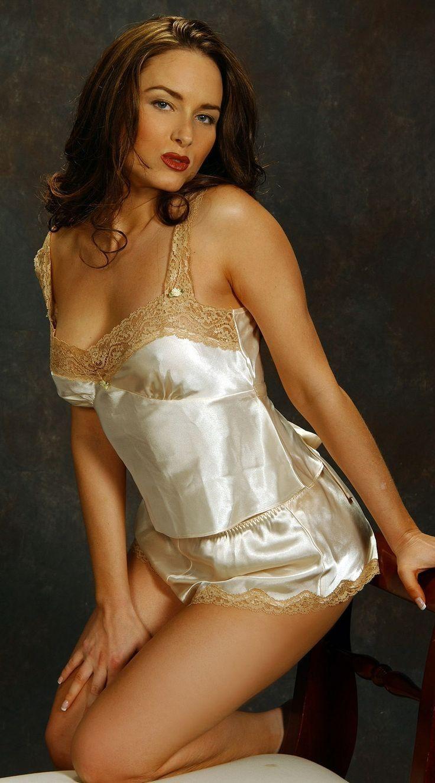 Consider, that silky vintage bra porn