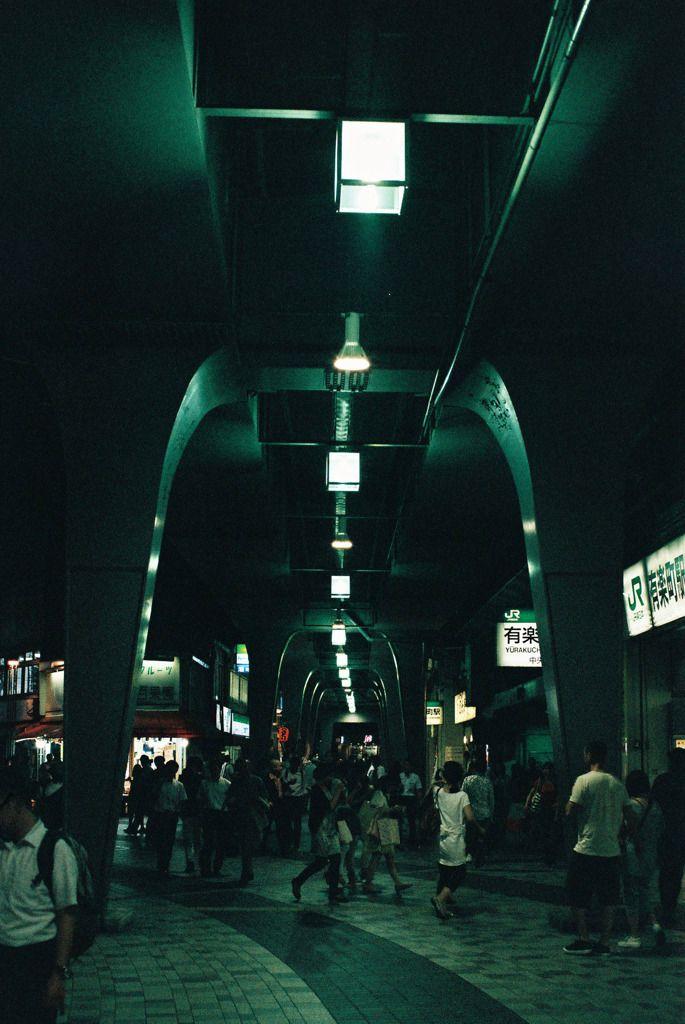 有楽町駅前ダンジョンの画像(写真) - I wish I could read Japanese. I want to know more about this photo.
