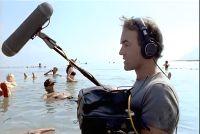 Nick Broomfield filming