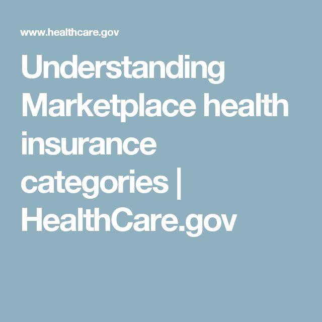 Understanding Marketplace health insurance categories   HealthCare.gov