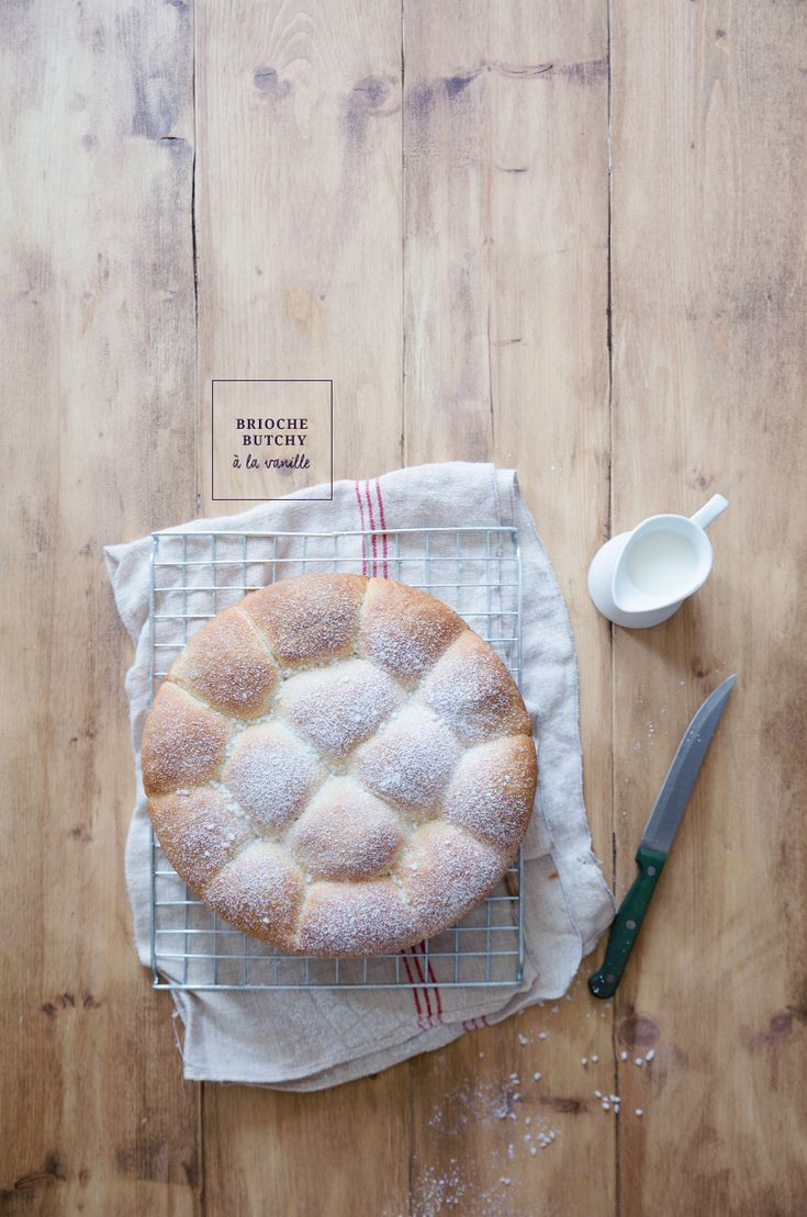 Brioche Butchy à la vanille ©Fraise & Basilic