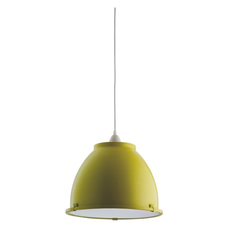 CHAU Yellow metal easy-to-fit ceiling shade