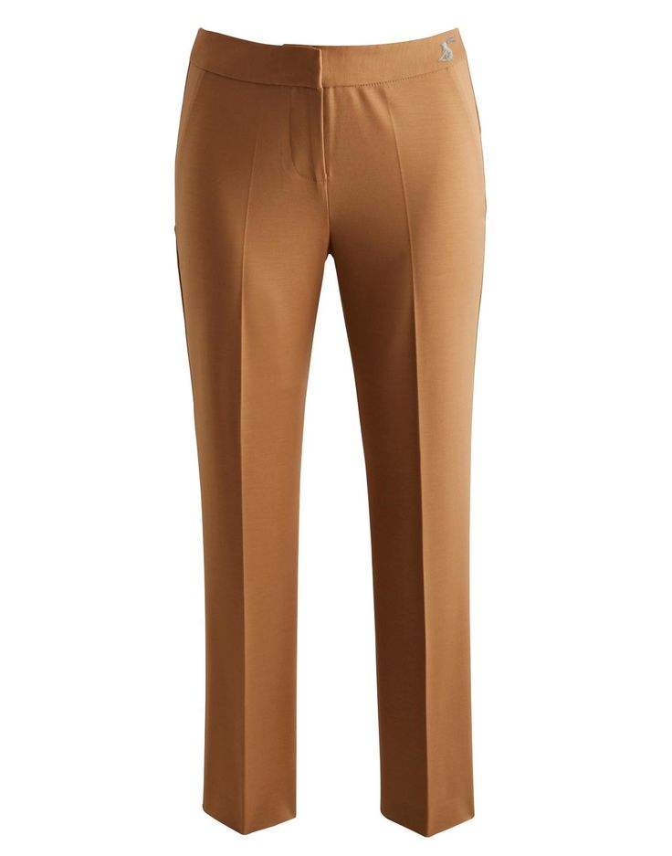 Joules Womens Capri Trousers, Wholemeal.                     Brighten up your look with a pair of essential cropped Capri trousers. Perfect to dress up or down they're great all-rounders.