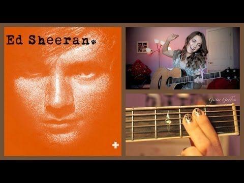 how to play ed sheeran on guitar easy