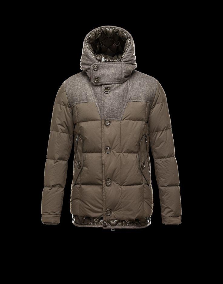 Jacket Men - Outerwear Men on Moncler Online Store www.pn warm winter, we  need warm coat ,so mordern down coat, my best loved moncler.