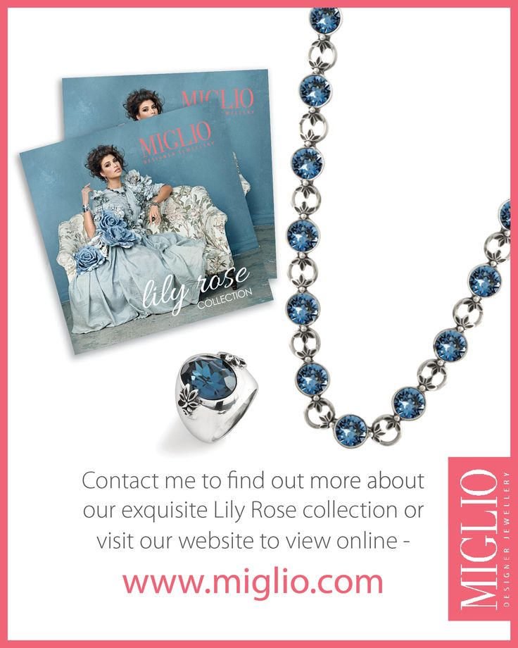 Contact me to find out more about Miglio's new Lily Rose Collection!