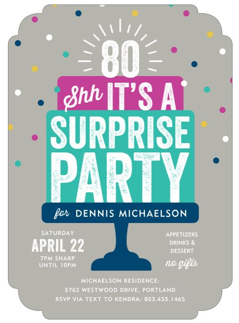 183 best 80th Birthday Ideas images on Pinterest 80 birthday, 80th - fresh birthday party invitation message to friends