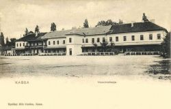 Kosice as care centers wounded in World War I. Also see: http://mek.oszk.hu/09500/09536/html/0001/25.html