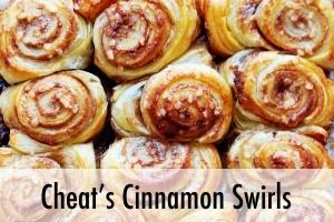 cheat's cinnamon swirls from Rosalilium. Looking forward to making these :-)
