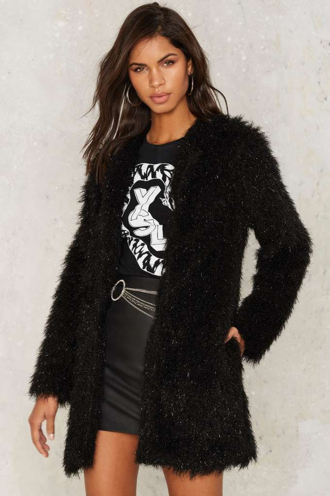 Dark Magic Faux Fur Coat | Shop Clothes at Nasty Gal!
