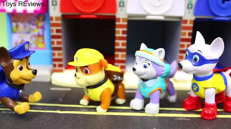 "Paw Patrol Lock N Roll Rescue Garage Finding Pups Color Learning in Adventure Bay and Red White Blue Paw Patrol Lock N Roll Rescue Garage finding pups with color learning at Adventure Bay seeing red white and blue by ToysReviewToys. Chase is hunting and finding the Paw Patrol. He searches Adventure Bay and finds the Lock N Roll Rescue Garage. The Paw Patrol come from the red white and blue garage with Robo Dog. This video is made the ""ToysReviewToys"" channel in collaboration with the…"